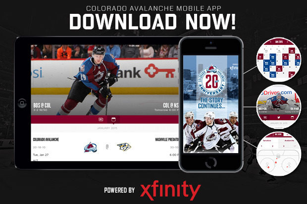 Colorado Avalanche Mobile App