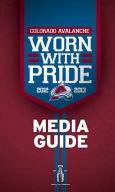 Colorado Avalanche 2012-13 Media Guide