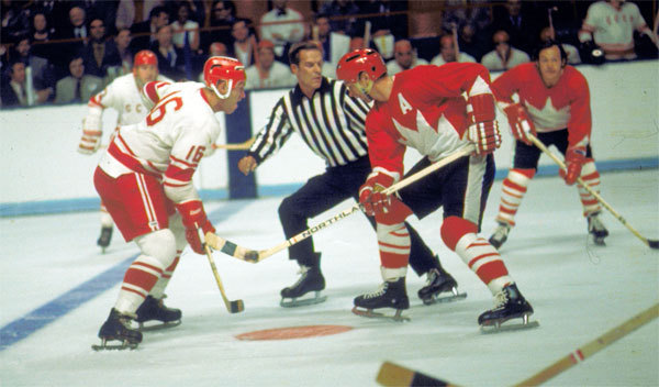 The 1972 summit series (photo by hockey hall of fame/images on ice