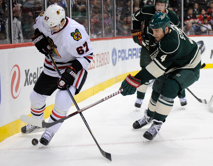Blackhawks vs. Wild