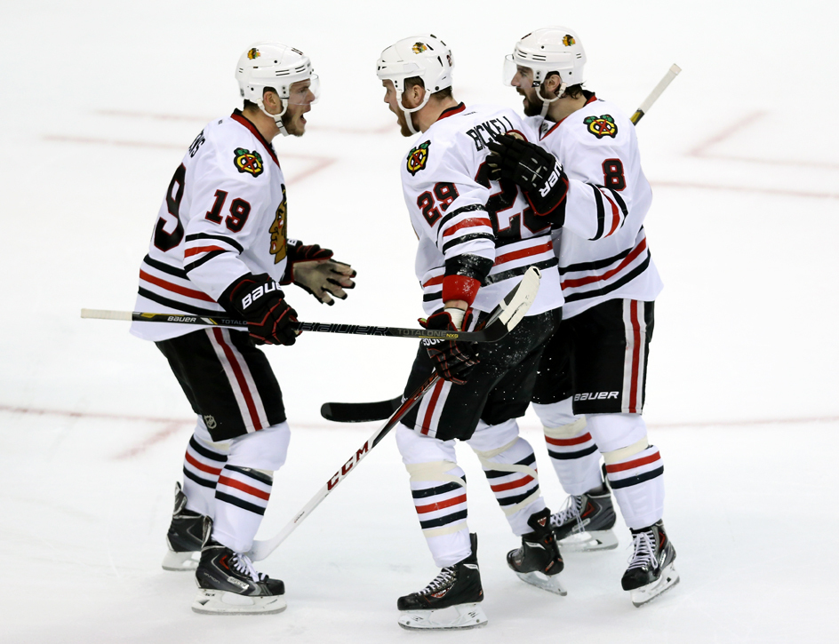 toews bickell celebration