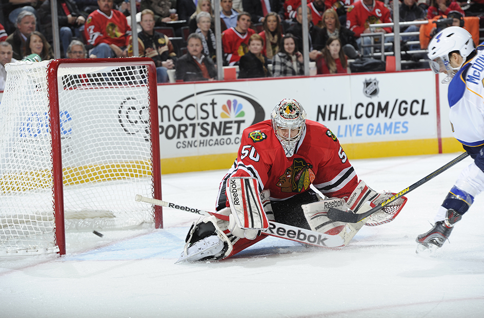 corey crawford blackhawks mcdonald blues