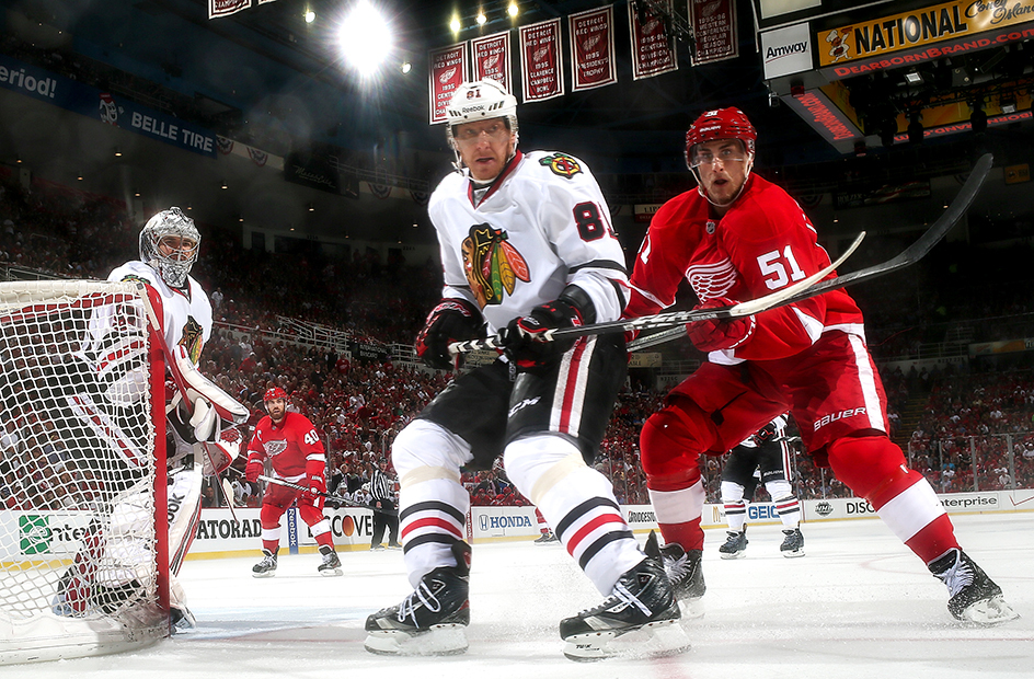 hossa from below