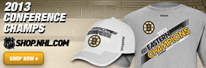 Get Your 2013 Boston Conference Championship Gear at Shop.NHL.com!