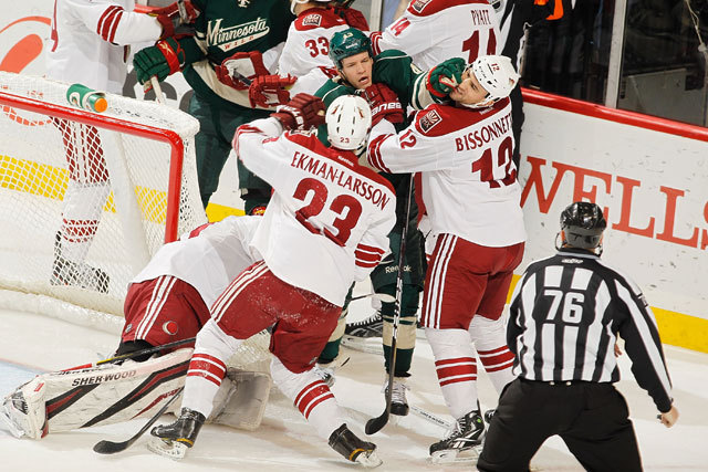 Wild vs. Coyotes