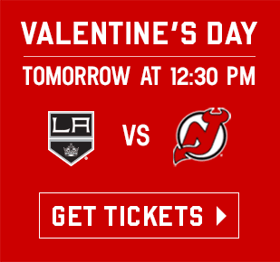 Next Home Game: Los Angeles Kings vs New Jersey Devils • February 14, 2016 at 12:30 PM • Get Tickets