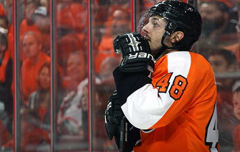 Flyers to honor Briere in pre-game ceremony Oct. 27