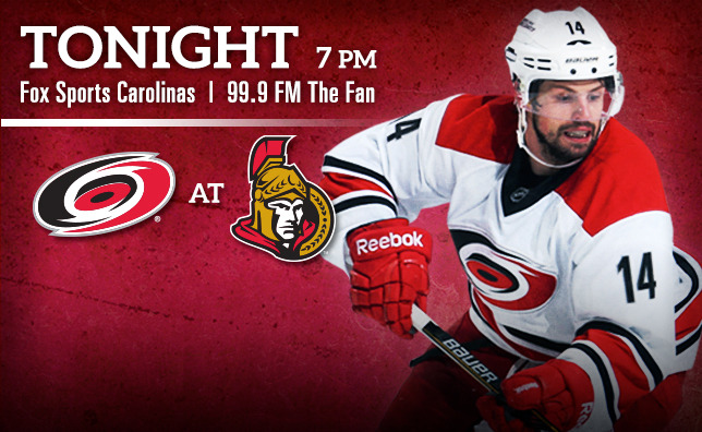 Hurricanes at Senators