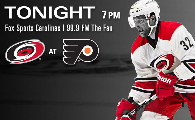 Hurricanes at Flyers