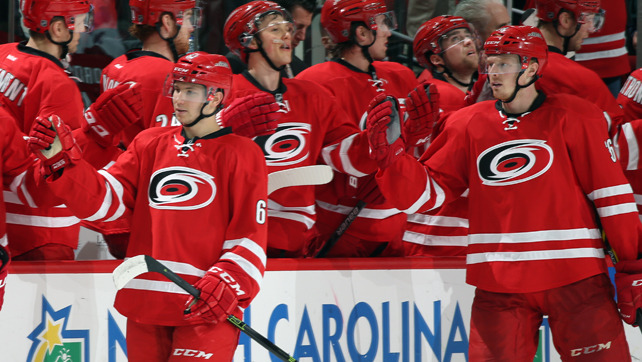 Canes Recall Brown, Tolchinsky from Charlotte