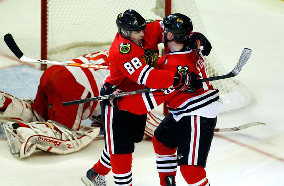 Western Conference Finals, Game 4: Red Wings at Blackhawks