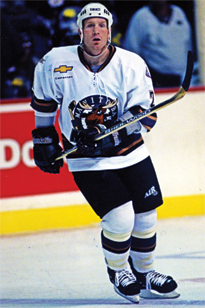 Former Moose forward Jimmy Roy