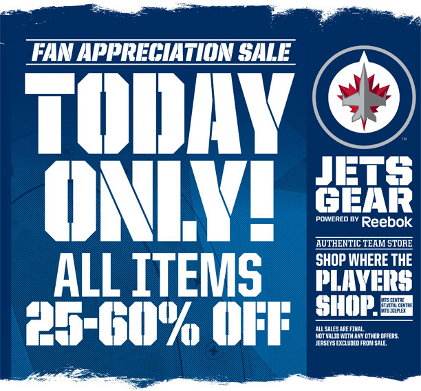 Jets Gear Fan Appreciation Sale