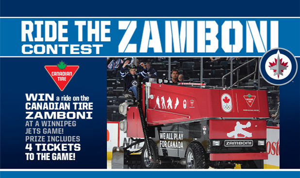 Candian Tire Ride the Zamboni
