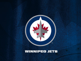 Winnipeg Jets Primary Logo Wallpaper