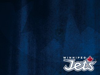 Winnipeg Jets Wordmark Wallpaper