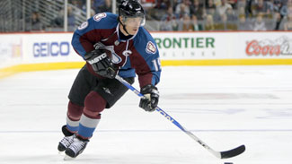 Joe Sakic Shot
