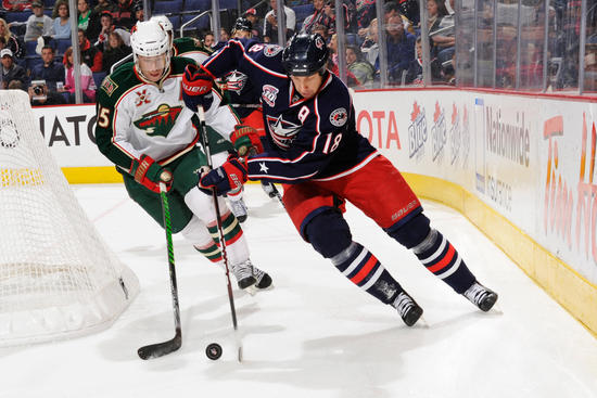 Wild vs. Blue Jackets