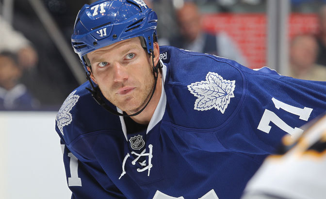 David Clarkson is traded