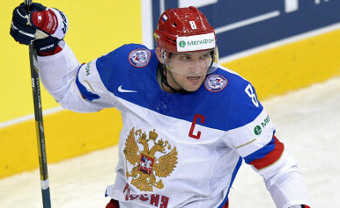 Ovechkin in Russia lineup for Worlds quarterfinals
