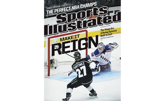 Kings' Cup win graces latest Sports Illustrated cover