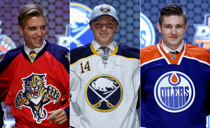 Notes from first round of 2014 NHL Draft