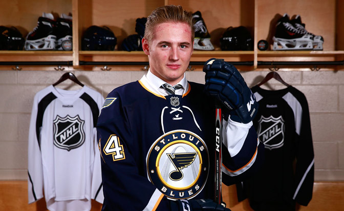 Barbashev agrees to entry-level contract with Blues