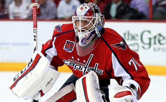 Capitals sign goaltender Holtby to five-year contract