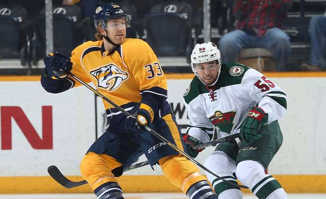 Predators sign forward Wilson to four-year contract