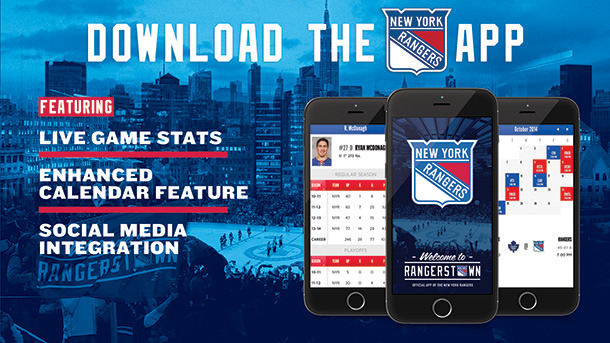 New York Rangers Schedule Wallpaper Official New York Rangers