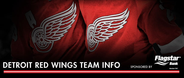 Detroit Red Wings Team Info