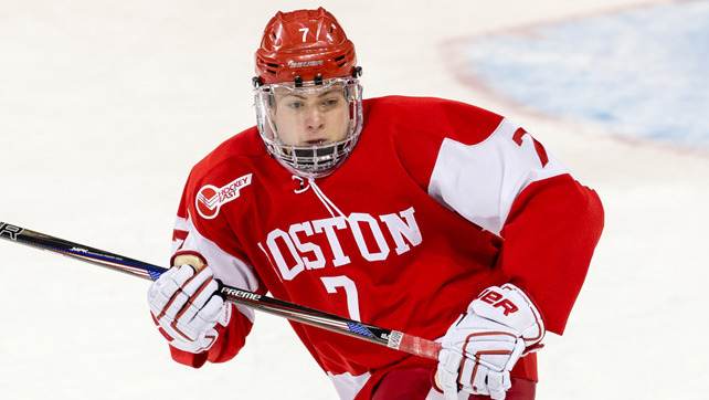 NCAA: McAvoy The Top-Ranked College Player