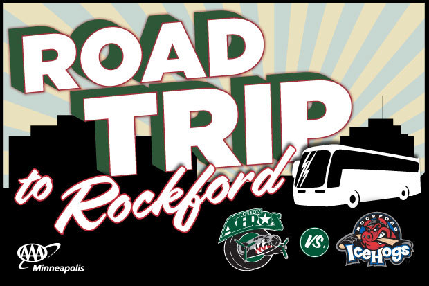 Houston Aeros Road Trip to Rockford